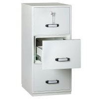 Fire Resistant Filing Cabinet - 3 Drawer - Insafe ...
