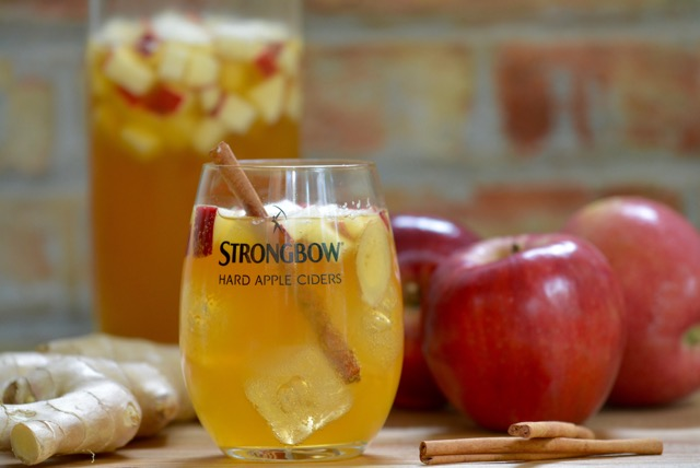 Fall Apple Cider Sangria Recipe From Stongbow