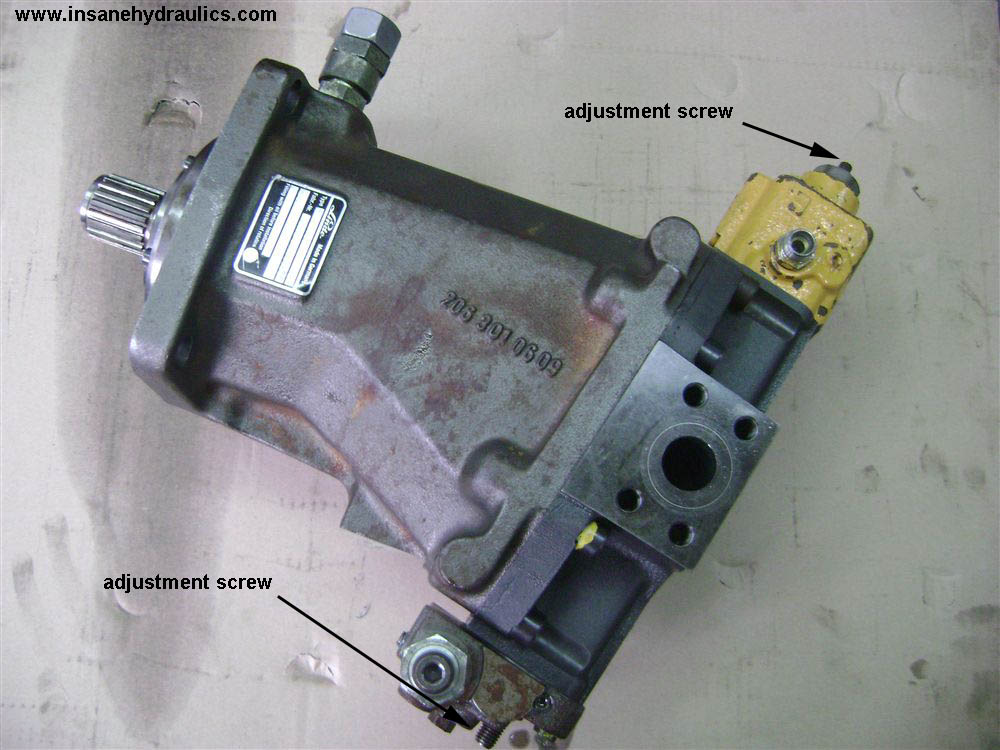 Linde BMV 105 Hydraulic Motor Description and Schematics