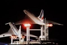 Concorde Blick aus dem Hotel Sinsheim