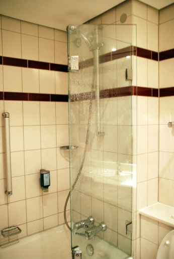 Novotel Freiburg Badezimmer