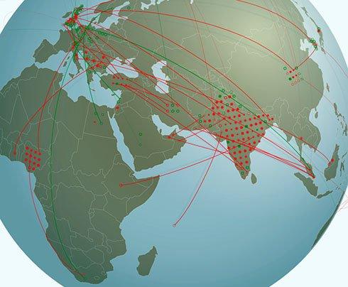 OA Fraud - Science sting operation; half globe