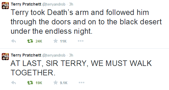 DEATH comes to PTerry