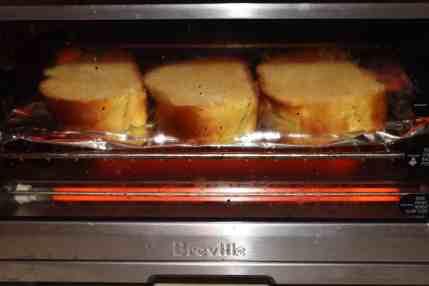 Toast the challah