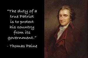 Thomas Paine - Duty