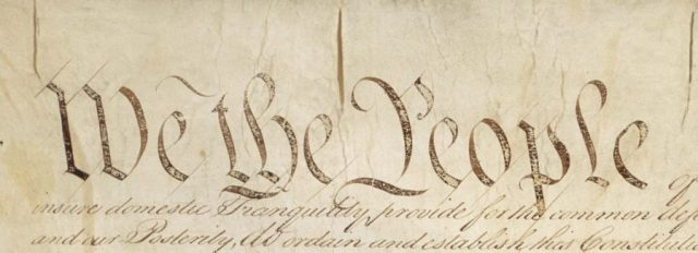 Constitution - We the People