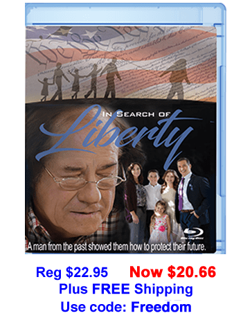 In Search of Liberty Blu-Ray