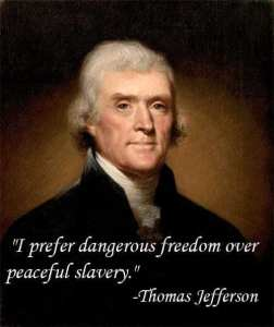 Jefferson - dangerous freedom