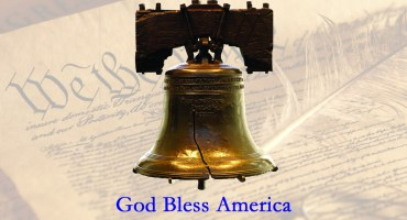 Constitution - Liberty Bell - God Bless America