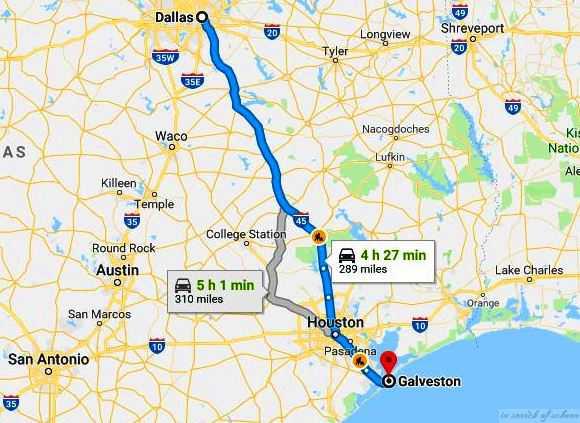 Road Trip To Galveston