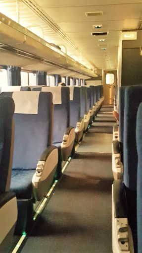 Peak inside the Pacific Surfliner