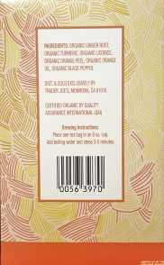 Trader Joes Ginger Turmeric Tea Ingredients