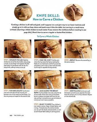 Knife Skills as mentioned in the book