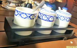 White and Blue Themed Tableware