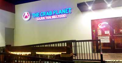 The Crab Planet from outside