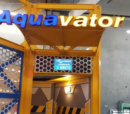 AquaVator Entrance