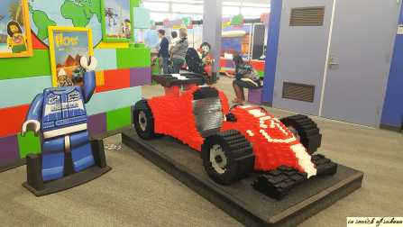 Lego Racing Car (Kids can sit in it)