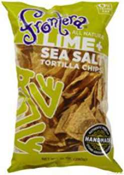 frontera lime and seasalt tortilla chips