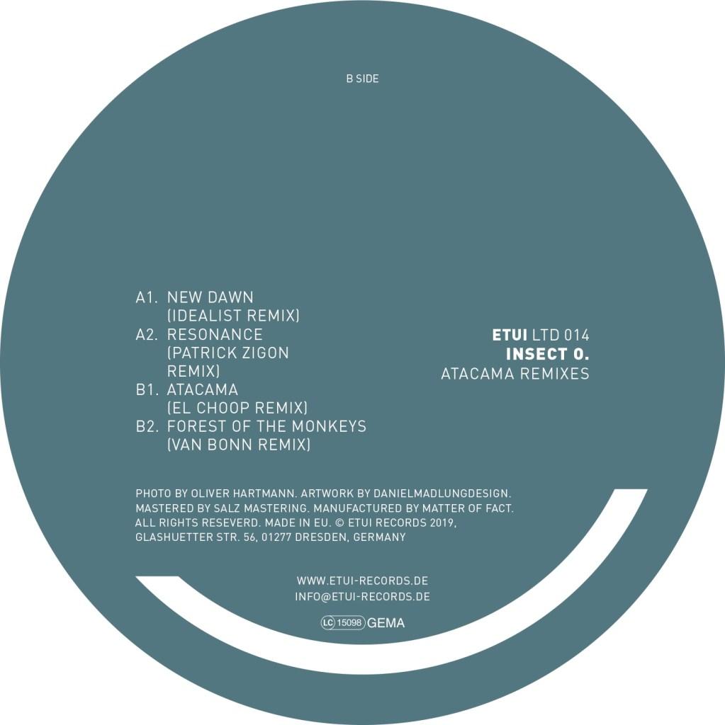 ETUILTD014 Insect O  - Atacama Remixes – INSECT O