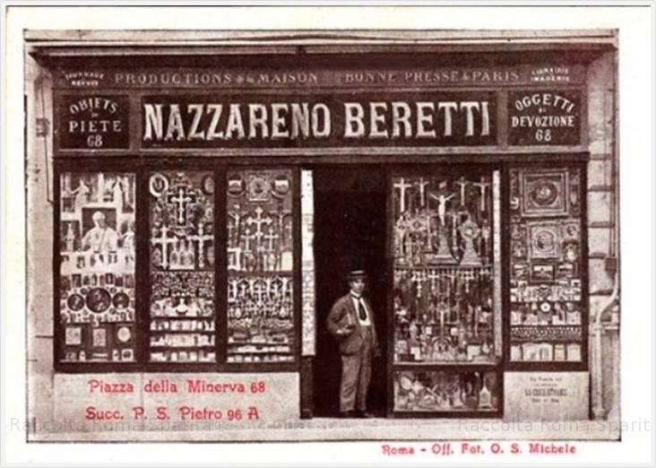 Nazzareno Berretti – Piazza della Minerva