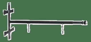 Staffa lineare per insegne antiche