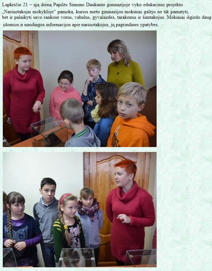Akmenės rajono Papilės Simono Daukanto gimnazija