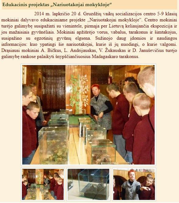 Gruzdžių vaikų socializacijos centras
