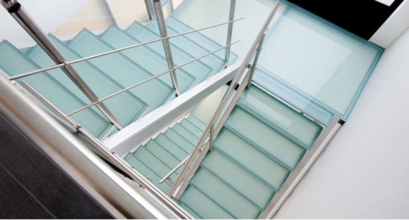 Insensation staircases, Treppen