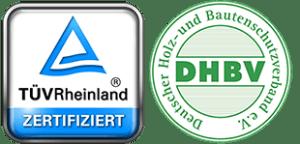TÜV + DHBV-Logo