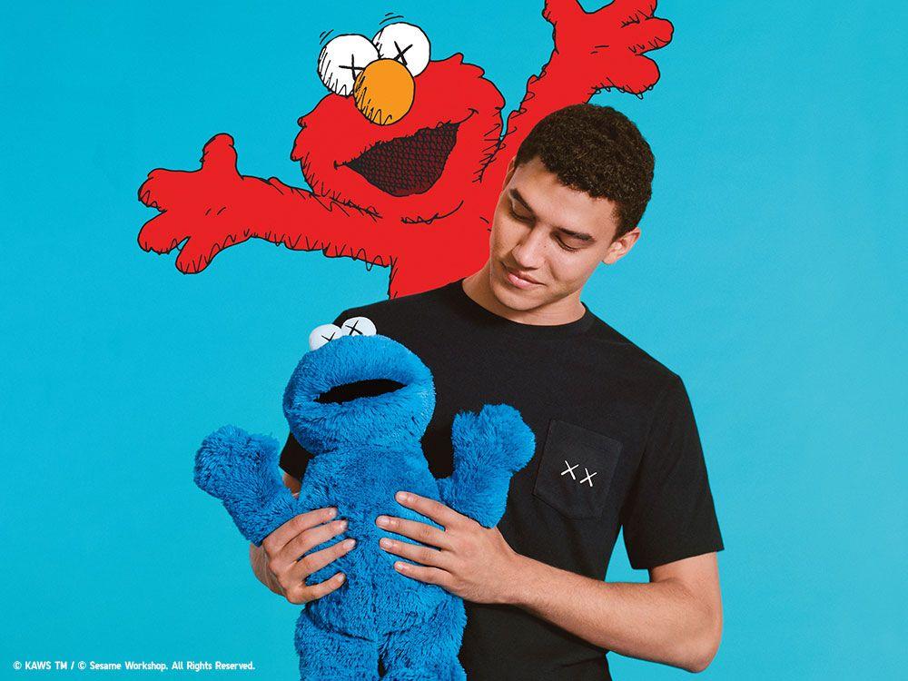 UNIQLO X KAWS X Sesame Street UT