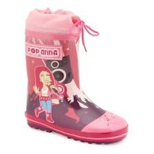 Γαλότσες παιδικές pop anna Φούξια