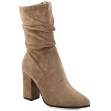 Γυναικεία μποτάκια ψηλοτάκουνα τύπου κάλτσα Πούρο