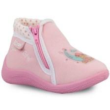 Παιδικές παντόφλες με φερμουάρ Ροζ