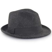 Καπέλα τύπου καβουράκι Μαύρο