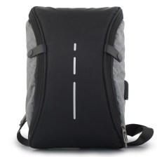 7701c1098b Ανδρικές τσάντες ώμου με κάθετη λεπτομέρεια Γκρι