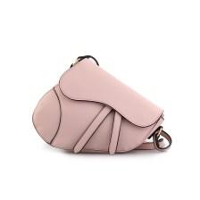 Γυναικείες τσάντες ώμου κυματιστό κόψιμο Ροζ