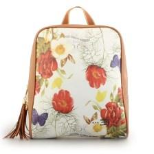 Γυναικεία σακίδια πλάτης με λουλούδια και πεταλούδες Ταμπά