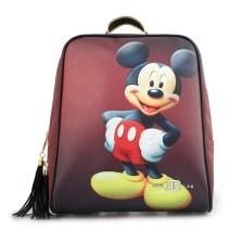 Γυναικεία σακίδια πλάτης με Mickey mouse Μπορντώ
