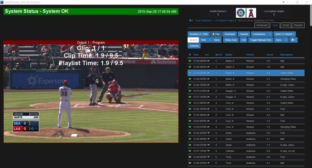 Hawk-Eye Innovations Unveils New Version of SMART Baseball Coaching System