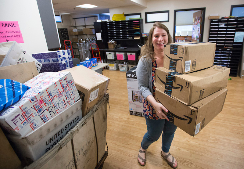 Online shopping  mailroom challenges  Inside Iowa State