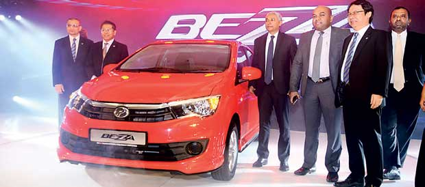 Unimo launches Perodua Bezza in Sri Lanka
