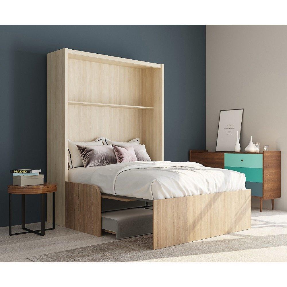 space sofa armoire lit escamotable 160