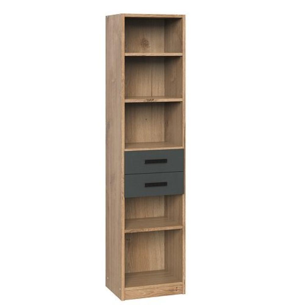etageres lisburn style industriel 2 tiroirs chaªne