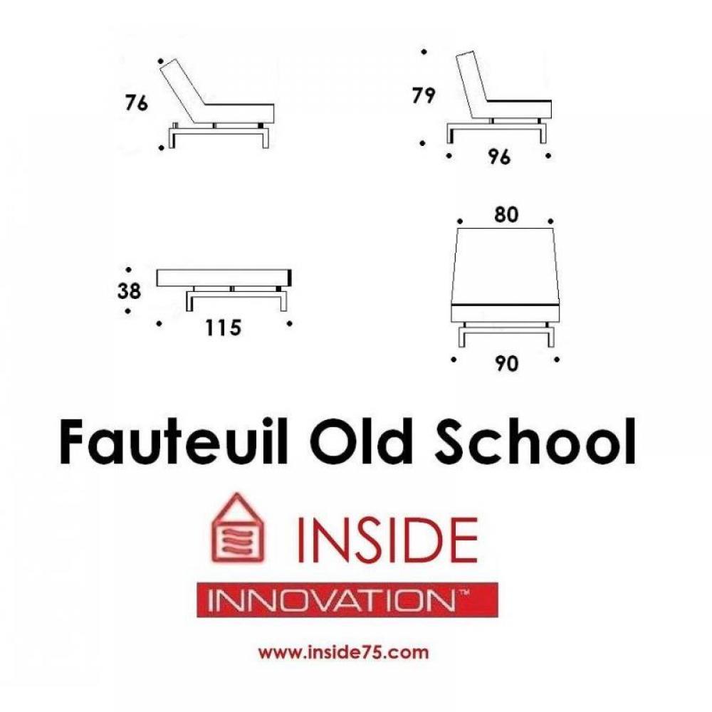 Meubles Et Rangements Fauteuil Lit Design OLD SCHOOL