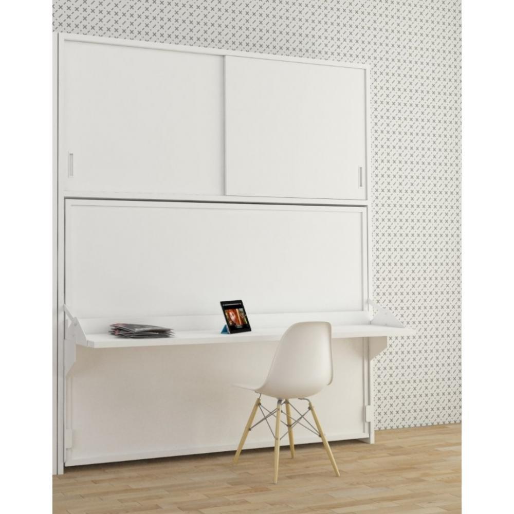 Lit Avec Placard Integre Maison Design