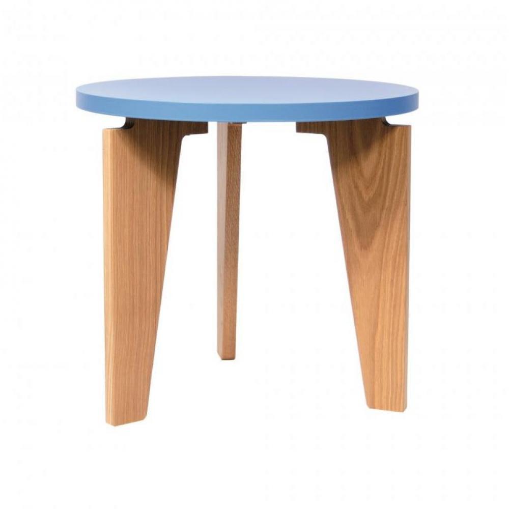Table Basse Bois Bleu