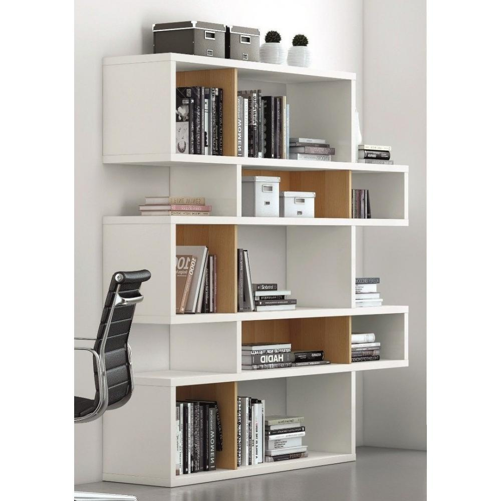 Bibliotheque Blanche Laquee