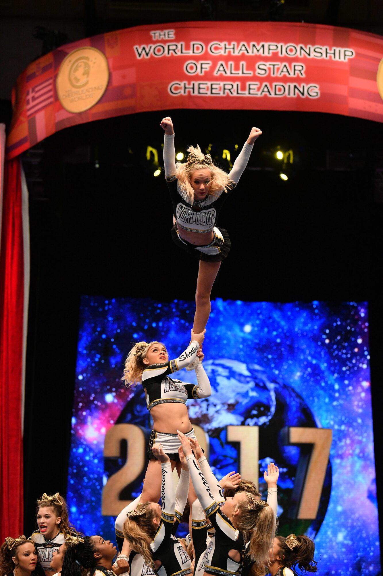 Countdown To Worlds 2018 World Cup Shooting Stars Inside Cheerleading Magazine