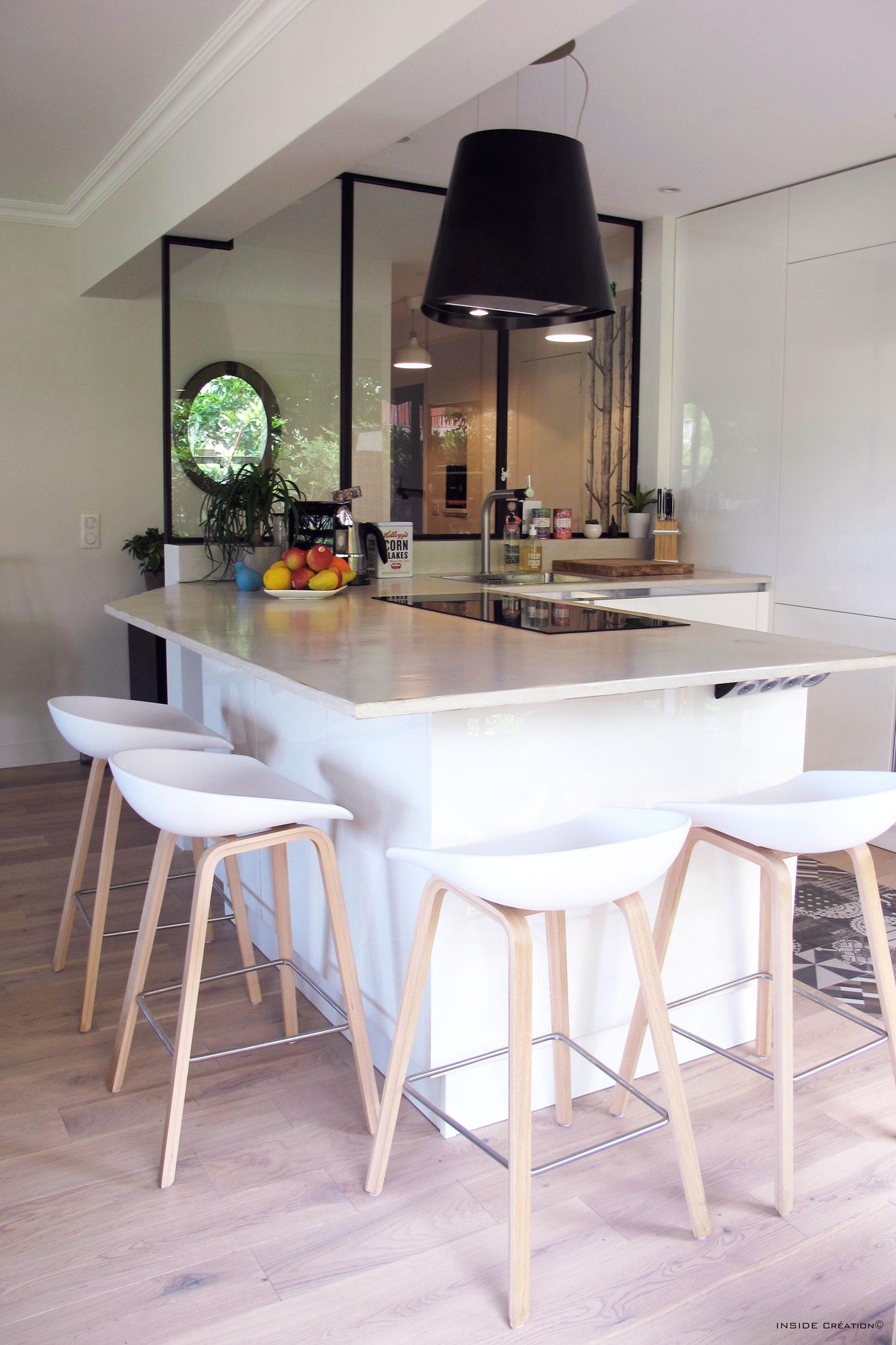 Cuisine Ouverte Ambiance Scandinave Inside Cration