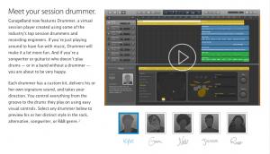 GarageBand drummers